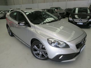 2015 Volvo V40 Cross Country M Series MY15 D4 Adap Geartronic Luxury Silver 8 Speed Sports Automatic.