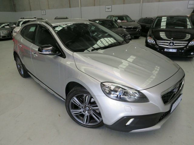 Used Volvo V40 Cross Country M Series MY15 D4 Adap Geartronic Luxury Seaford, 2015 Volvo V40 Cross Country M Series MY15 D4 Adap Geartronic Luxury Silver 8 Speed Sports Automatic