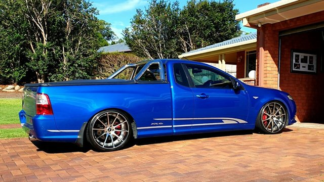 Used Ford Falcon FG MkII XR6 Ute Super Cab Turbo Virginia, 2013 Ford Falcon FG MkII XR6 Ute Super Cab Turbo Kinetic Blue 6 Speed Sports Automatic Utility