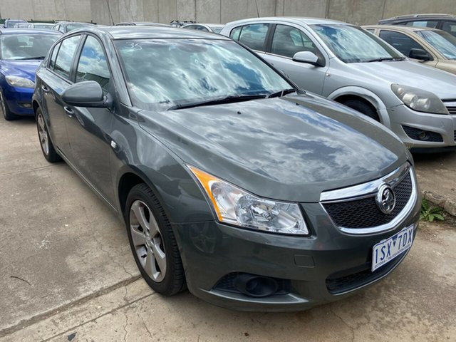 Used Holden Cruze JH MY13 CD Equipe Hoppers Crossing, 2013 Holden Cruze JH MY13 CD Equipe Grey 6 Speed Automatic Hatchback