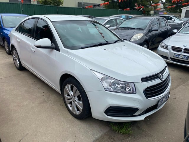 Used Holden Cruze JH MY12 CD Hoppers Crossing, 2012 Holden Cruze JH MY12 CD White 6 Speed Automatic Sedan