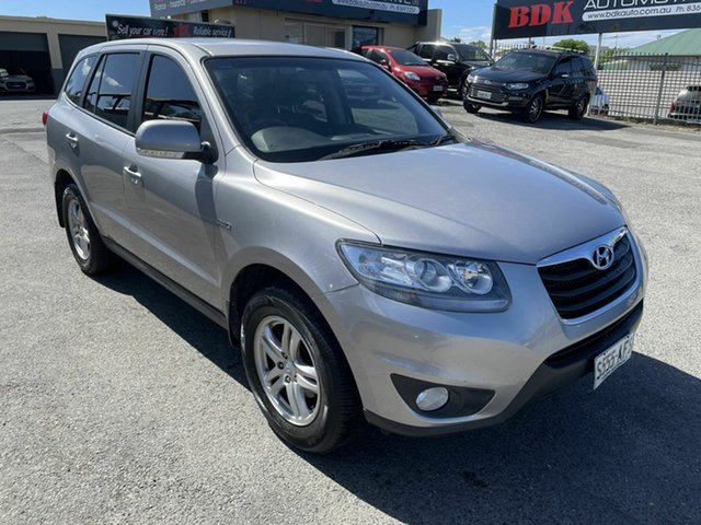 Used Hyundai Santa Fe CM MY10 SLX Hampstead Gardens, 2009 Hyundai Santa Fe CM MY10 SLX Grey 6 Speed Sports Automatic Wagon