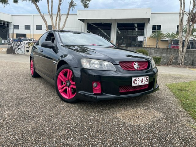 Used Holden Commodore VE MY10 SV6 Underwood, 2009 Holden Commodore VE MY10 SV6 Black 6 Speed Automatic Sedan