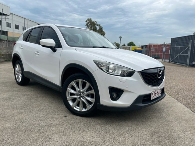 Used Mazda CX-5 Grand Tourer (4x4) Underwood, 2012 Mazda CX-5 Grand Tourer (4x4) White 6 Speed Automatic Wagon