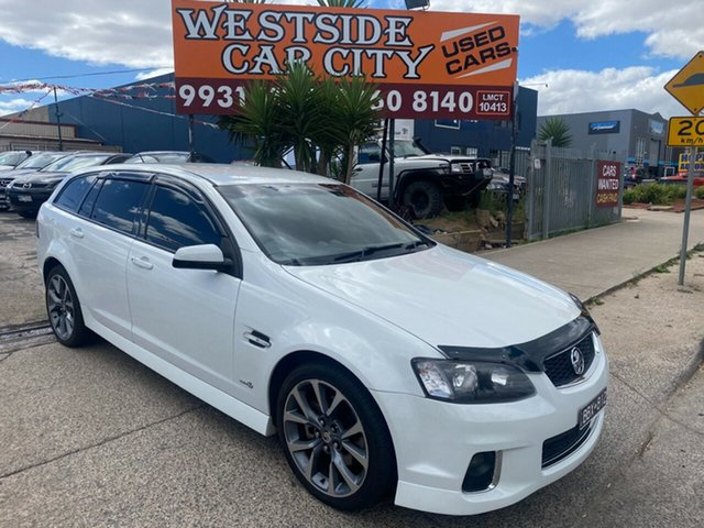 Used Holden Commodore VE II MY12 SS Hoppers Crossing, 2012 Holden Commodore VE II MY12 SS White 6 Speed Automatic Sportswagon