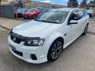 2012 Holden Commodore VE II MY12 SS White 6 Speed Automatic Sportswagon.