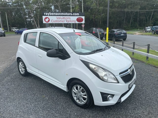 Used Holden Barina Auto Coffs Harbour, 2014 Holden Barina Auto SPARK White 4 Speed Automatic Sedan