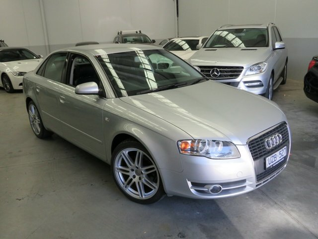 Used Audi A4 B7 Multitronic Seaford, 2007 Audi A4 B7 Multitronic Silver 7 Speed Constant Variable Sedan