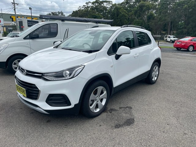 Used Holden Trax LS Coffs Harbour, 2019 Holden Trax TJMY20 LS White 6 Speed Automatic Wagon