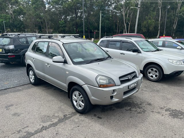 Used Hyundai Tucson SX Coffs Harbour, 2009 Hyundai Tucson CITY SX Silver 5 Speed Manual Wagon