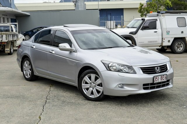 Used Honda Accord 8th Gen V6 Luxury Virginia, 2008 Honda Accord 8th Gen V6 Luxury Silver 5 Speed Sports Automatic Sedan