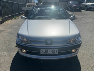 2000 Peugeot 306 N5 MY00 Silver 5 Speed Manual Convertible