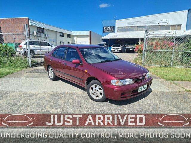 Used Nissan Pulsar N15 S2 Plus LX Virginia, 1999 Nissan Pulsar N15 S2 Plus LX Maroon 4 Speed Automatic Sedan