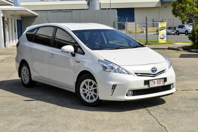 Used Toyota Prius v ZVW40R Virginia, 2012 Toyota Prius v ZVW40R White 1 Speed Constant Variable Wagon Hybrid