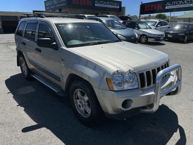 Used Jeep Grand Cherokee WH MY2007 Laredo Hampstead Gardens, 2007 Jeep Grand Cherokee WH MY2007 Laredo Gold 5 Speed Automatic Wagon