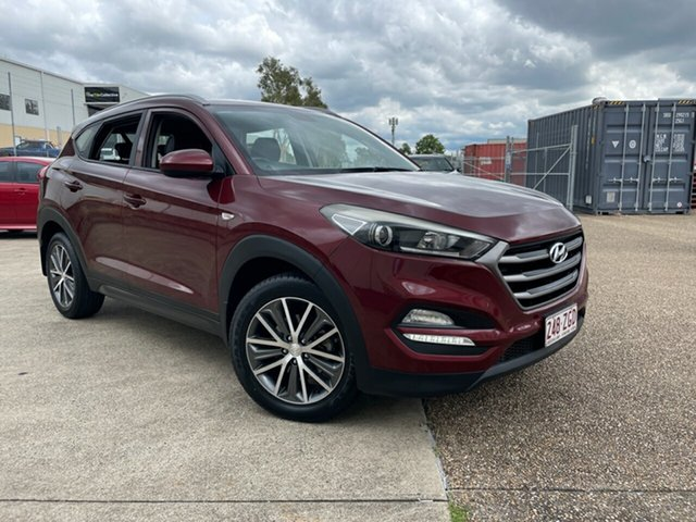 Used Hyundai Tucson TL Active X (FWD) Underwood, 2016 Hyundai Tucson TL Active X (FWD) Red 6 Speed Automatic Wagon