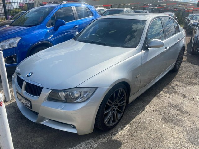 Used BMW 320i E90 Executive Hoppers Crossing, 2007 BMW 320i E90 Executive Silver 6 Speed Auto Steptronic Sedan
