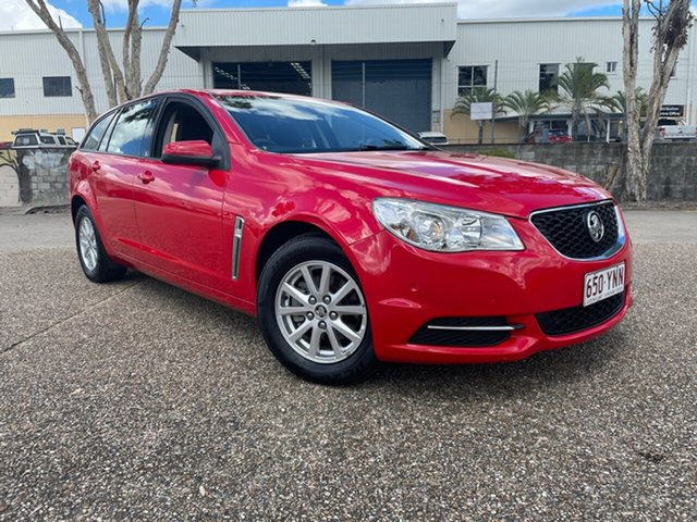 Used Holden Commodore VF Evoke Underwood, 2014 Holden Commodore VF Evoke Red 6 Speed Automatic Sportswagon
