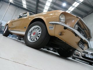 1968 Ford Mustang Cobra Jet GT Sunlight Gold 3 Speed Automatic Fastback