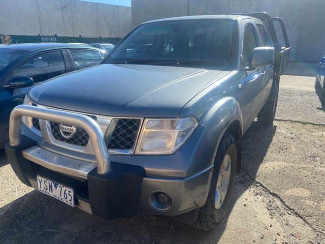 Used Nissan Navara D40 RX (4x4) Hoppers Crossing, 2011 Nissan Navara D40 RX (4x4) 5 Speed Automatic Dual Cab Pick-up