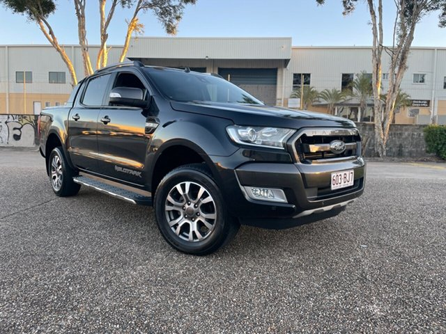Used Ford Ranger PX MkII MY17 Wildtrak 3.2 (4x4) Underwood, 2016 Ford Ranger PX MkII MY17 Wildtrak 3.2 (4x4) Black 6 Speed Manual Dual Cab Pick-up