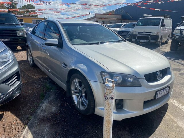 Used Holden Commodore VE SV6 Hoppers Crossing, 2007 Holden Commodore VE SV6 Silver 6 Speed Manual Sedan