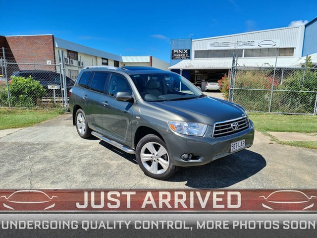 Used Toyota Kluger GSU40R Grande 2WD Virginia, 2008 Toyota Kluger GSU40R Grande 2WD Grey 5 Speed Sports Automatic Wagon