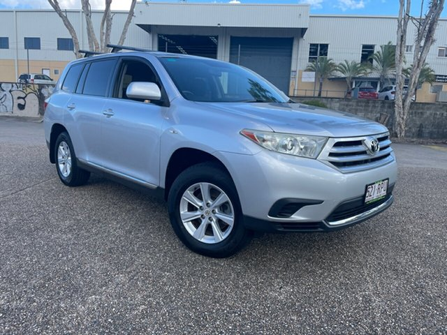 Used Toyota Kluger GSU40R MY11 Upgrade KX-R (FWD) 7 Seat Underwood, 2011 Toyota Kluger GSU40R MY11 Upgrade KX-R (FWD) 7 Seat Silver 5 Speed Automatic Wagon