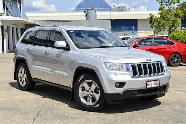 Used Jeep Grand Cherokee WK MY2012 Laredo Virginia, 2011 Jeep Grand Cherokee WK MY2012 Laredo Silver 5 Speed Sports Automatic Wagon