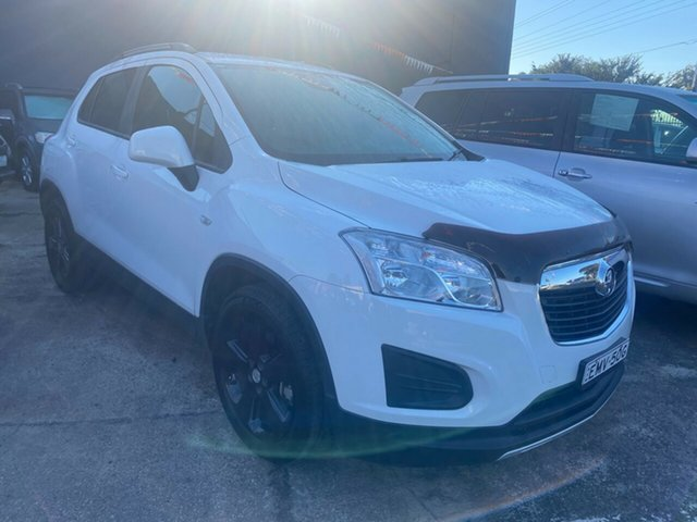 Used Holden Trax TJ MY16 LS Hoppers Crossing, 2016 Holden Trax TJ MY16 LS White 6 Speed Automatic Wagon