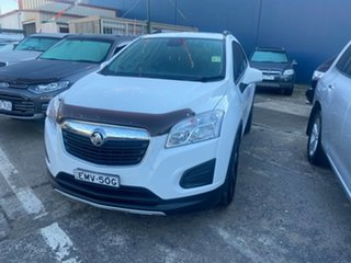 2016 Holden Trax TJ MY16 LS White 6 Speed Automatic Wagon.