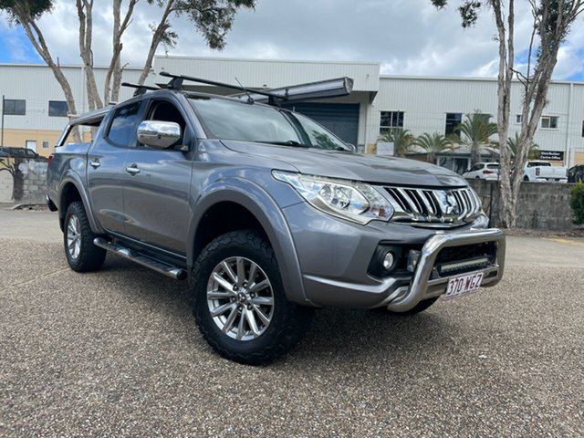 Used Mitsubishi Triton MQ MY16 GLS (4x4) Underwood, 2015 Mitsubishi Triton MQ MY16 GLS (4x4) Grey 6 Speed Manual Dual Cab Utility