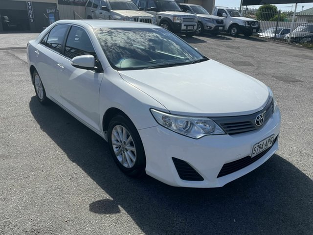 Used Toyota Camry ASV50R Altise Hampstead Gardens, 2012 Toyota Camry ASV50R Altise White 6 Speed Sports Automatic Sedan