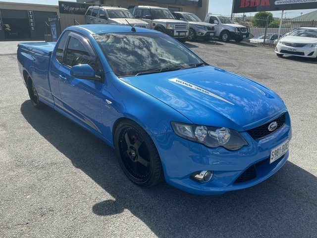 Used Ford Falcon FG XR8 Ute Super Cab Hampstead Gardens, 2009 Ford Falcon FG XR8 Ute Super Cab Blue 6 Speed Manual Utility