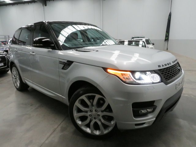 Used Land Rover Range Rover Sport L494 15.5MY SDV6 SE Seaford, 2015 Land Rover Range Rover Sport L494 15.5MY SDV6 SE Silver 8 Speed Sports Automatic Wagon