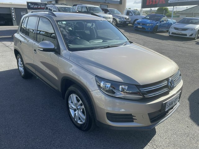 Used Volkswagen Tiguan 5N MY14 118TSI DSG 2WD Hampstead Gardens, 2013 Volkswagen Tiguan 5N MY14 118TSI DSG 2WD Brown 6 Speed Sports Automatic Dual Clutch Wagon