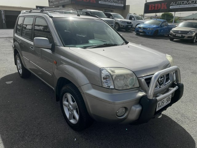 Used Nissan X-Trail T30 II TI Hampstead Gardens, 2003 Nissan X-Trail T30 II TI Gold 5 Speed Manual Wagon
