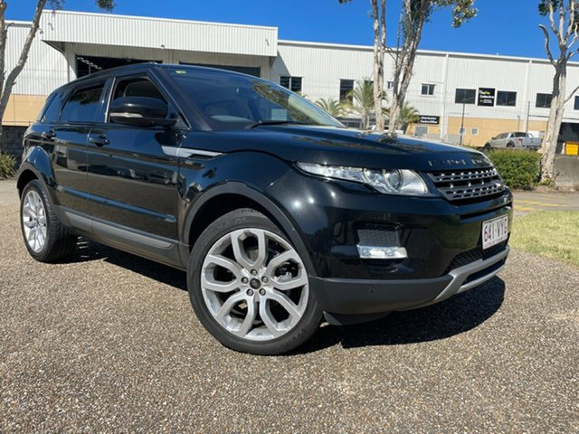 Used Land Rover Range Rover Evoque LV MY13 TD4 Pure Underwood, 2013 Land Rover Range Rover Evoque LV MY13 TD4 Pure Black 6 Speed Automatic Wagon