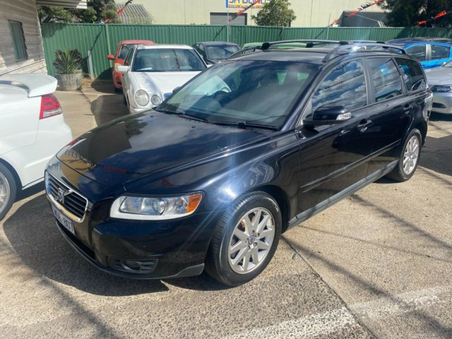 Used Volvo V50 MY08 2.4 LE Hoppers Crossing, 2008 Volvo V50 MY08 2.4 LE Black 5 Speed Auto Geartronic Wagon