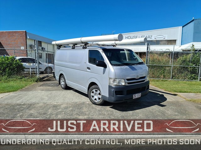 Used Toyota HiAce KDH201R MY10 LWB Virginia, 2010 Toyota HiAce KDH201R MY10 LWB Silver 4 Speed Automatic Van