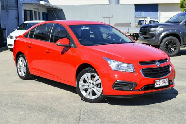 Used Holden Cruze JH Series II MY15 Equipe Virginia, 2015 Holden Cruze JH Series II MY15 Equipe Red 5 Speed Manual Sedan