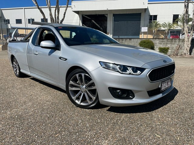 Used Ford Falcon FG X XR6 Underwood, 2016 Ford Falcon FG X XR6 Silver 6 Speed Auto Seq Sportshift Utility