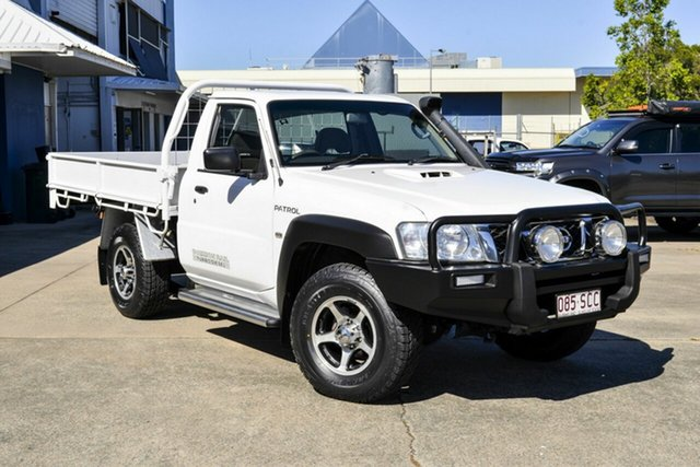 Used Nissan Patrol GU 6 MY10 DX Virginia, 2011 Nissan Patrol GU 6 MY10 DX White 5 Speed Manual Cab Chassis