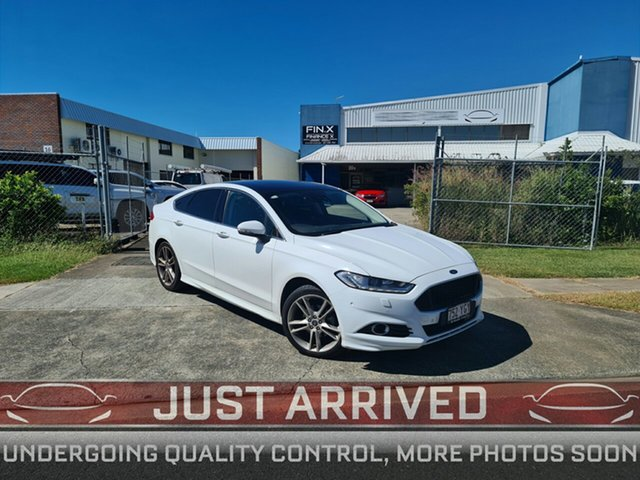 Used Ford Mondeo MD 2017.50MY Titanium Virginia, 2017 Ford Mondeo MD 2017.50MY Titanium White 6 Speed Sports Automatic Dual Clutch Hatchback