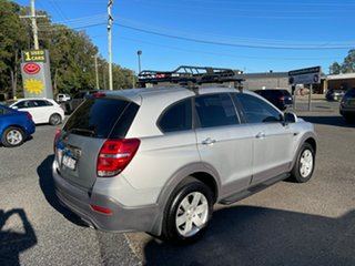 2014 Holden CAPTIVA-7 CG LS 7 SEATER Silver 6 Speed Automatic Wagon.
