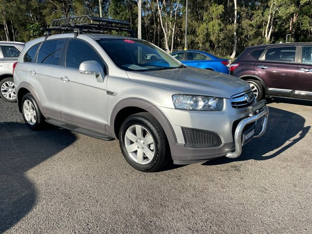 Used Holden CAPTIVA-7 CG Coffs Harbour, 2014 Holden CAPTIVA-7 CG LS 7 SEATER Silver 6 Speed Automatic Wagon