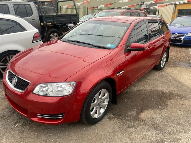 Used Holden Commodore VE II MY12 Omega Hoppers Crossing, 2011 Holden Commodore VE II MY12 Omega Red 6 Speed Automatic Sportswagon