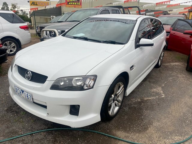 Used Holden Commodore VE MY09.5 SV6 Hoppers Crossing, 2009 Holden Commodore VE MY09.5 SV6 White 5 Speed Automatic Sportswagon