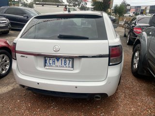 2009 Holden Commodore VE MY09.5 SV6 White 5 Speed Automatic Sportswagon