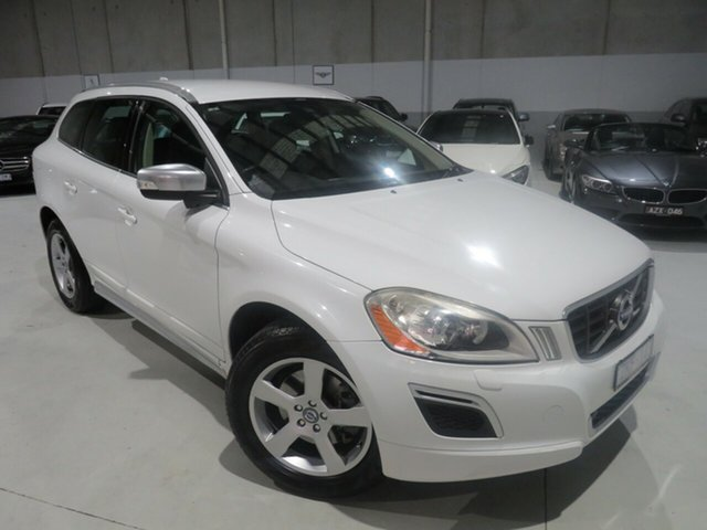 Used Volvo XC60 DZ MY13 D5 Geartronic AWD R-Design Seaford, 2012 Volvo XC60 DZ MY13 D5 Geartronic AWD R-Design White 6 Speed Sports Automatic Wagon